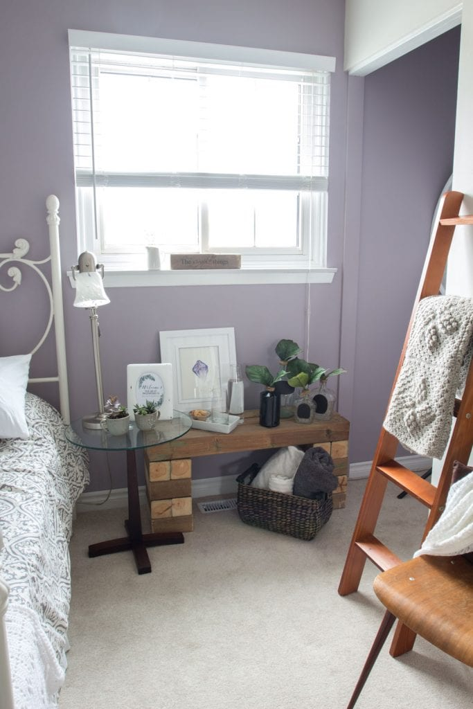 Mauve Lous Guest Bedroom Ideas A Simple Spare Room Refresh