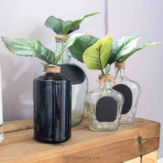 Easy DIY Room Decor: Upcycled Wine Bottle Crafts