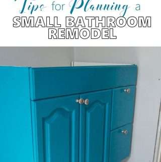 One Room Challenge | Spring 2017 Edition | Tips for Planning a Small Bathroom Remodel – Week 3