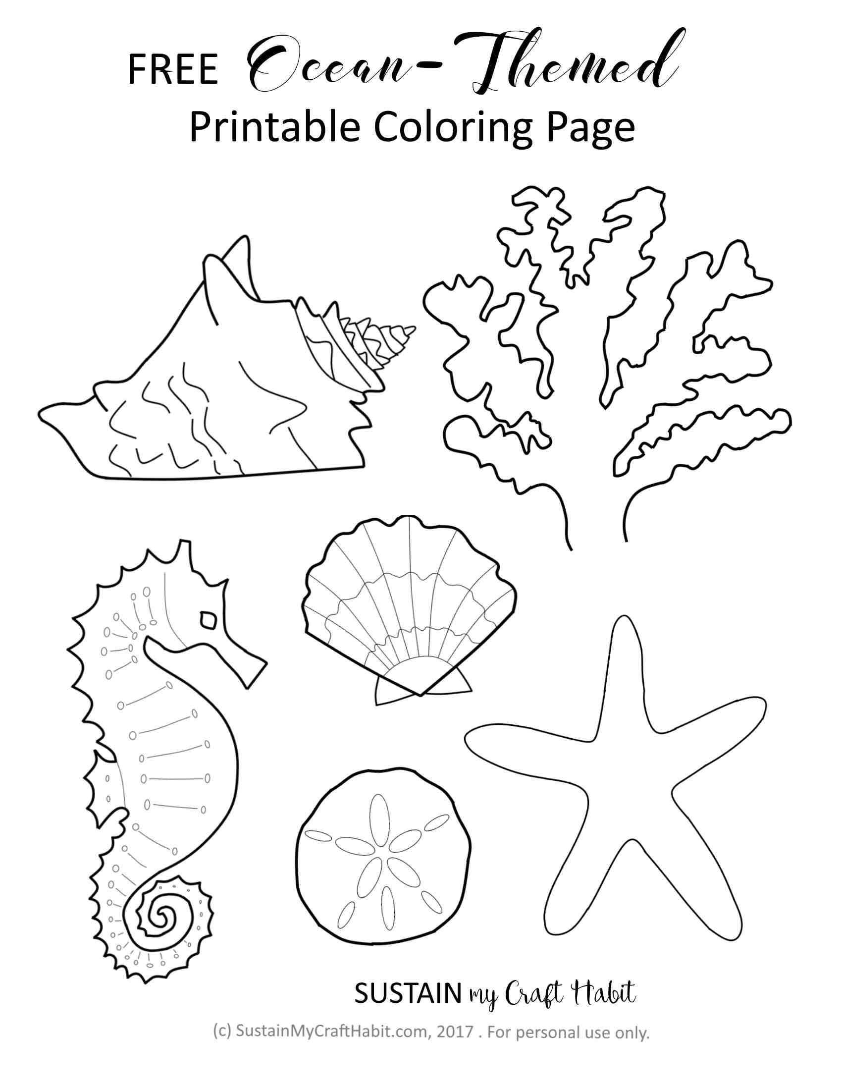 Coloramo Ocean Theme Coloring Pages Coloramo Best Free