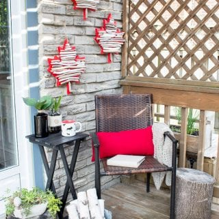 Canada Day Crafts: DIY Maple Leaf Decor with Driftwood