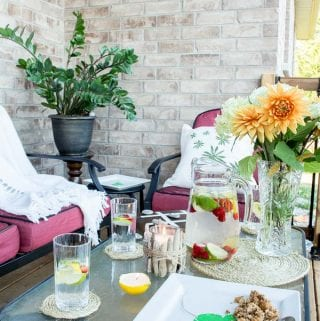Patio Decorating Ideas: 12 Simple DIY Ideas for Easy Summer Entertaining