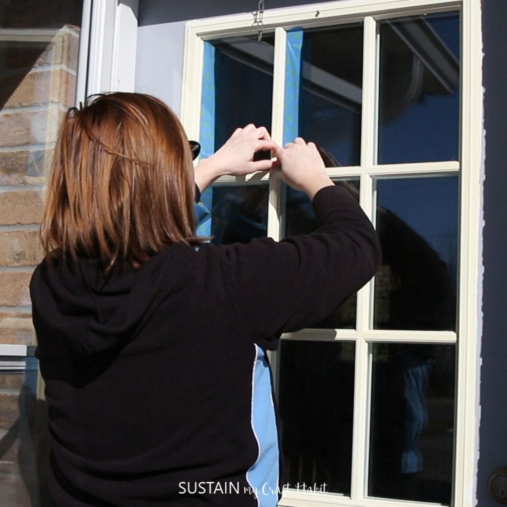 How to Paint a Front Door for Added Curb Appeal! – Sustain My Craft ...