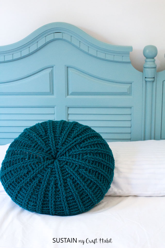 How to paint wood furniture without sanding or priming. Full tutorial for an upcycled headboard.
