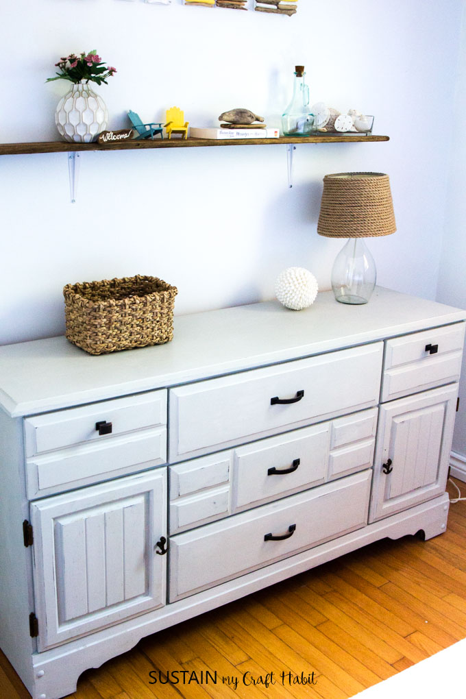 How to Paint a Wood Dresser with Country Chic Paint
