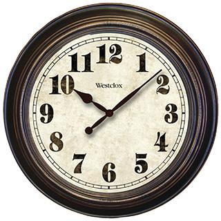 Large farmhouse wall clock