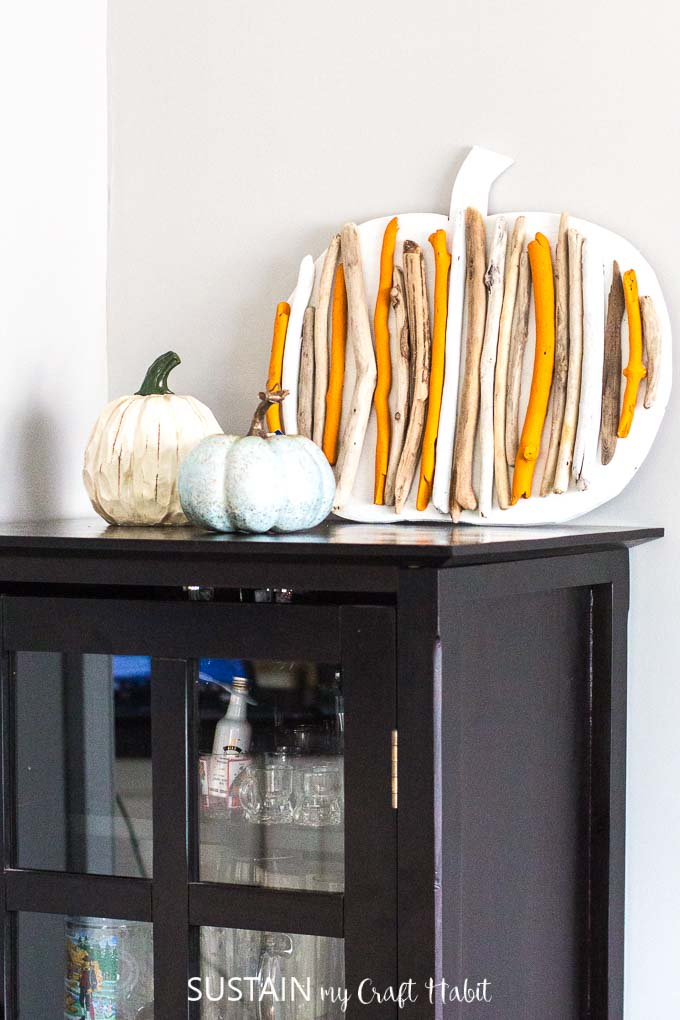 Rustic Chic Fall Home Tour 13 Sustain My Craft Habit