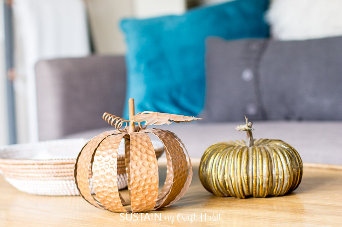 chic rustic fall home tour