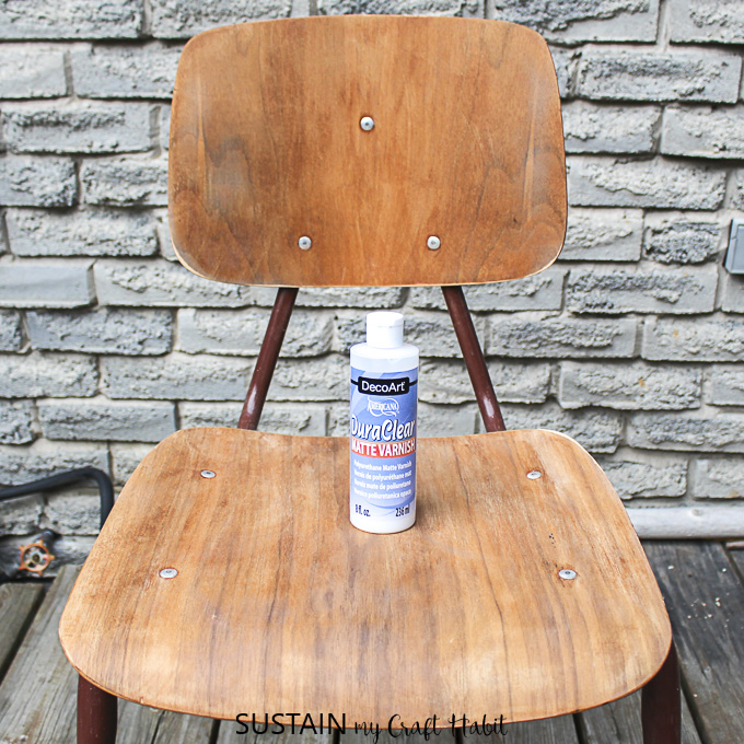 Refinishing Wood Chairs