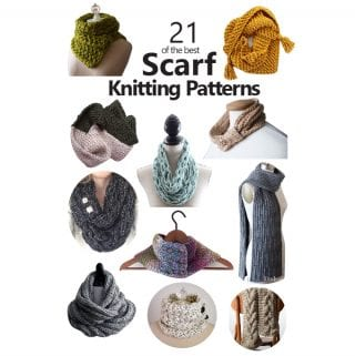 21 of the Best Scarf Knitting Patterns