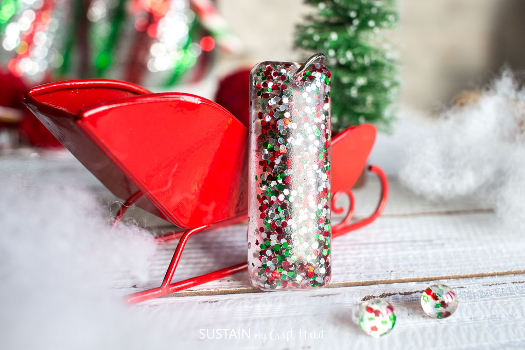 Jewelry Making Ideas: Resin Christmas Earrings – Sustain My ...