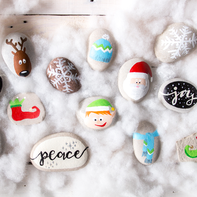 christmas rock painting ideas elf shoes tutorial sustain my craft habit