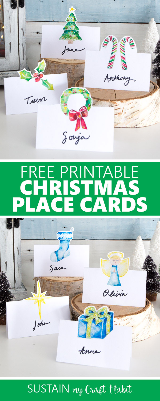 photograph relating to Free Printable Christmas Place Cards called Cost-free Printable Xmas Issue Playing cards Keep My Craft Routine