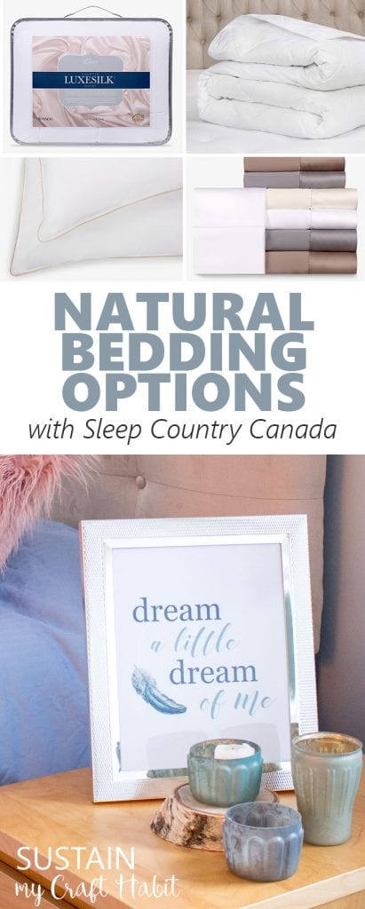 Natural bedding options for your bedroom and home