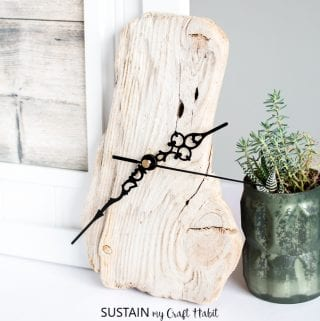 How to Make a Clock with Driftwood