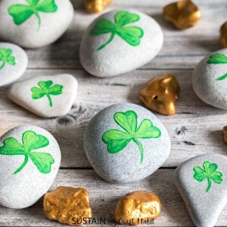 ShamROCKS and Gold Nuggets St. Patrick's Day Crafts