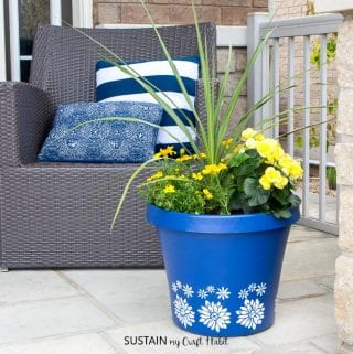 DIY Planters for your Outdoor Floral Arrangements