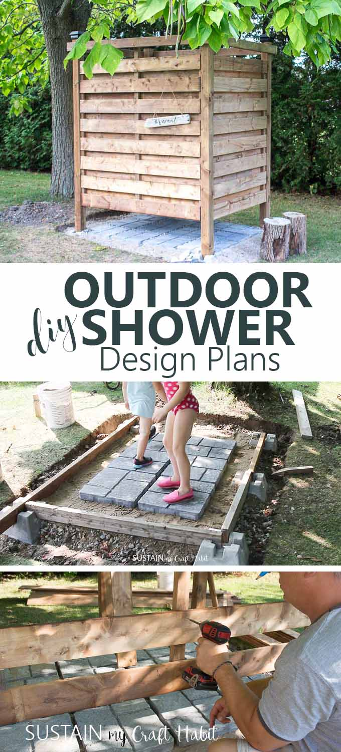 DIY Outdoor Shower Enclosure for the Cottage – Sustain My