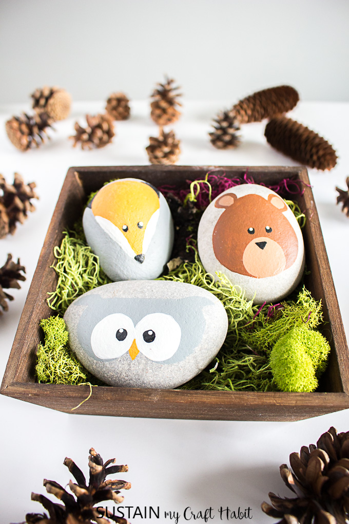Diy Woodland Baby Shower Decorations Sustain My Craft Habit