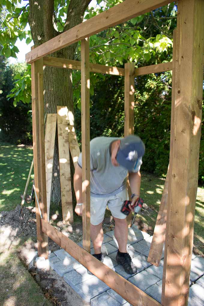 DIY Outdoor Shower Enclosure Plans with VIDEO! - Sustain ...
