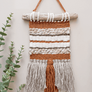 DIY Woven Wall Hanging {Guest Post}