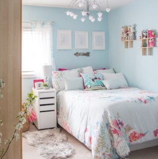 Tween Bedroom Ideas in Teal and Pink: #MyColourJourney
