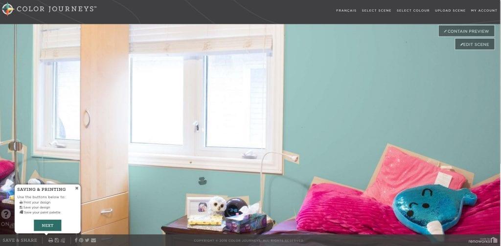 Tween Bedroom Ideas in Teal and Pink: #MyColourJourney ...