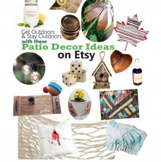 The Best Patio Decor Ideas on Etsy: Free Shipping for Limited Time Only