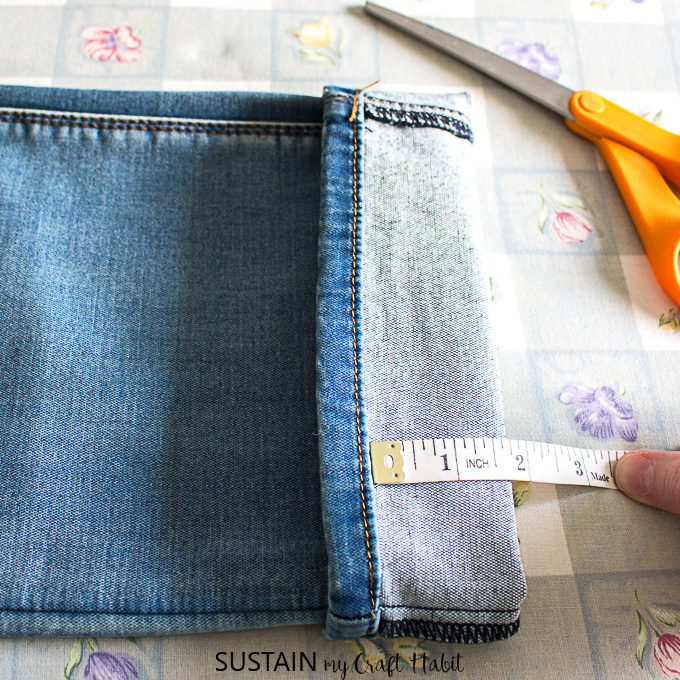 measuring the new hem