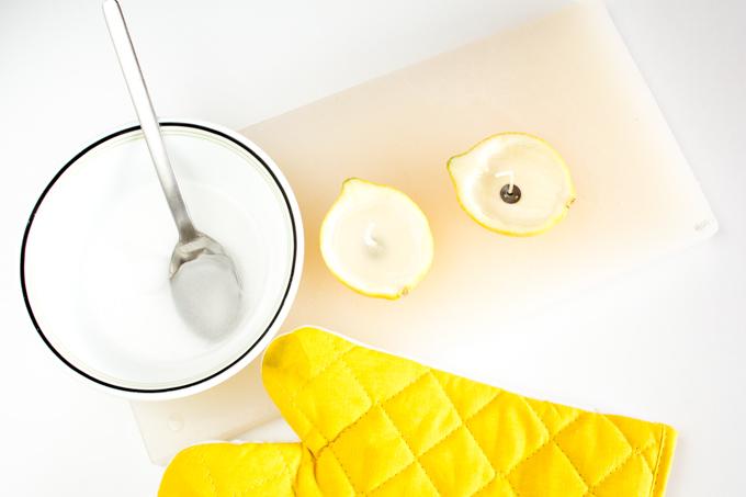 citrus candles