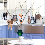 woodland baby shower decorations