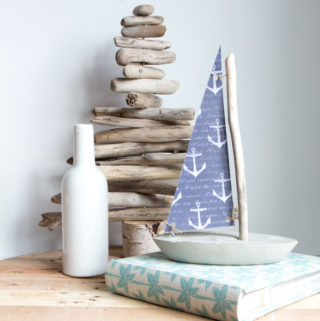 Making a Concrete and Driftwood Sailboat and other DIY Nautical Decor