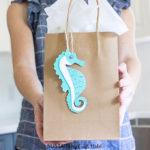 beachy printable gift tags
