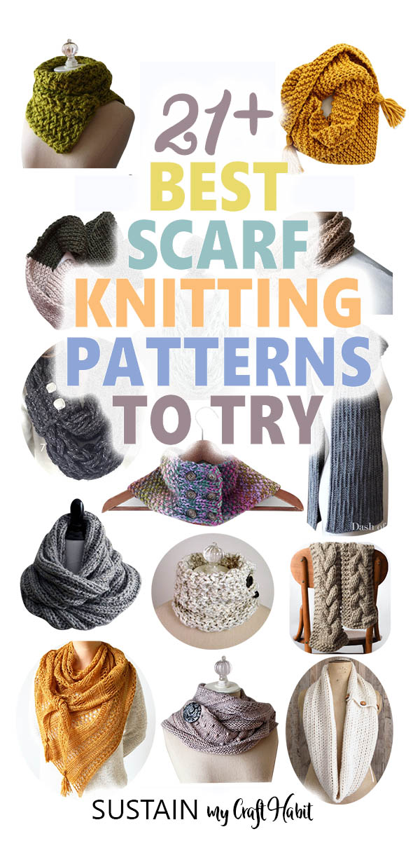 Best scarf knitting patterns to try