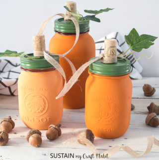 pumpkin mason jar crafts