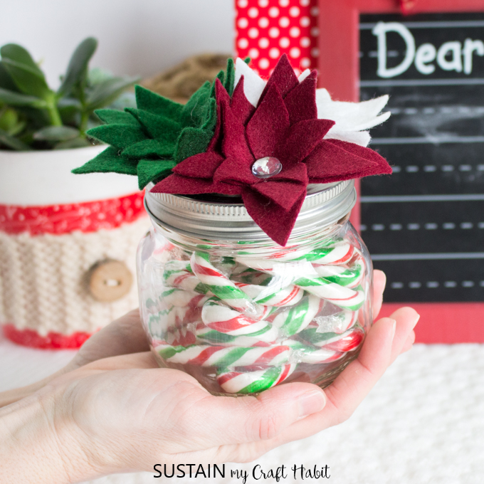 The Sweetest Valentine S Gift Jar With Cricut Other Candy Jar Ideas Sustain My Craft Habit