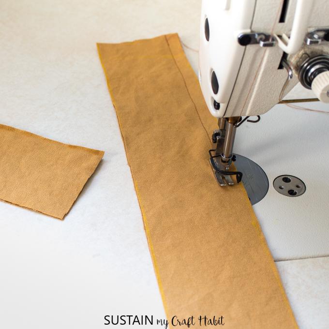 Super easy apron pattern tutorial