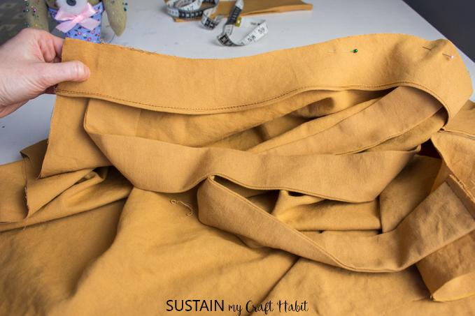 DIY utility apron pattern