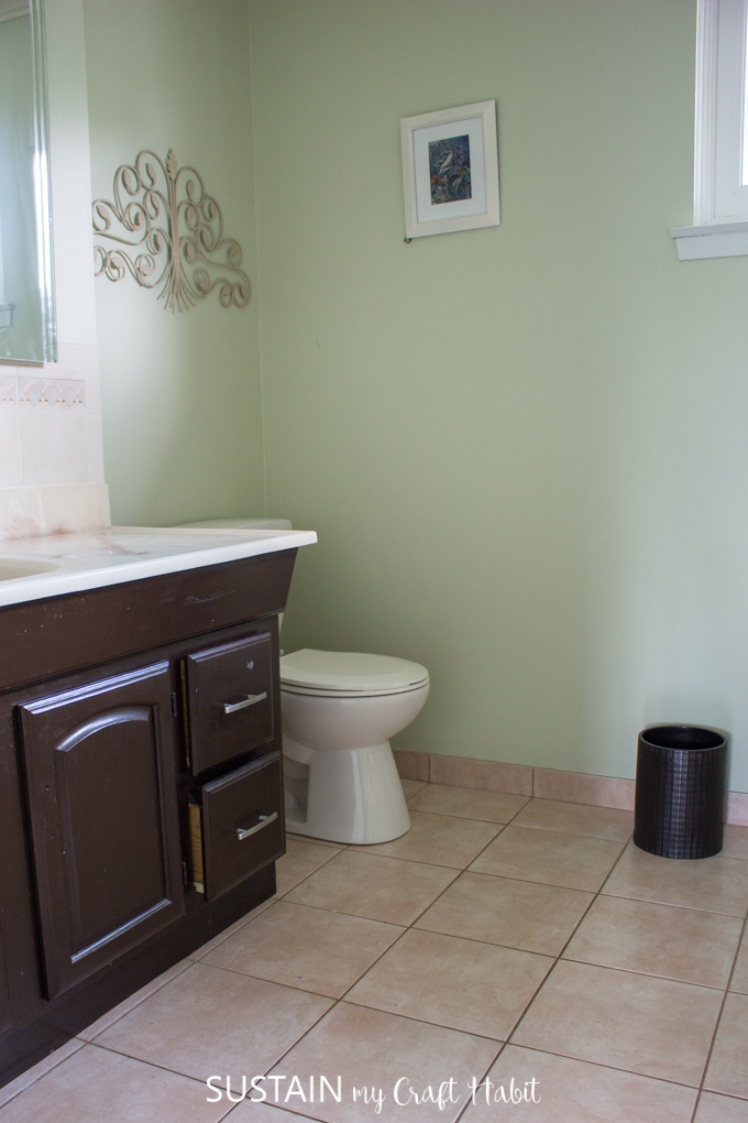 bathroom remodel ideas - the before