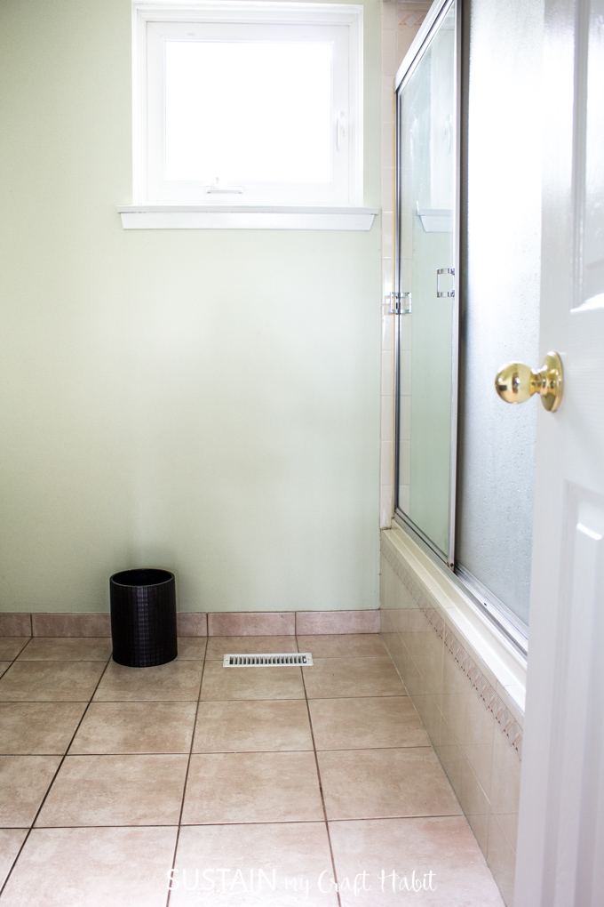 bathroom remodel ideas - the before pics