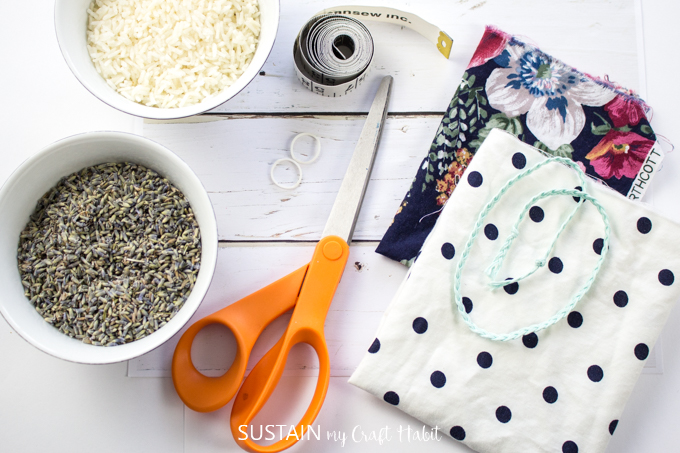 how to make lavender sachet