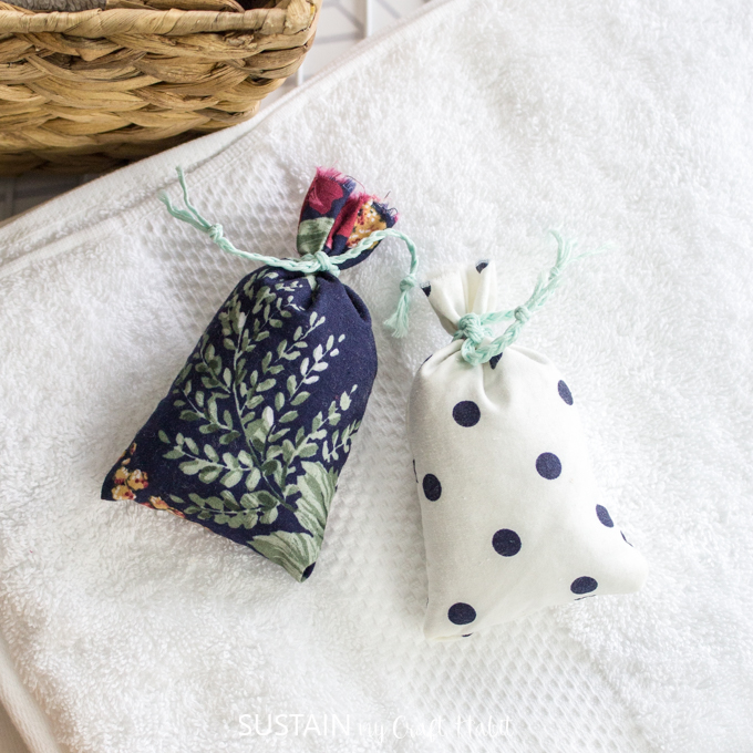 how to make lavender sachets