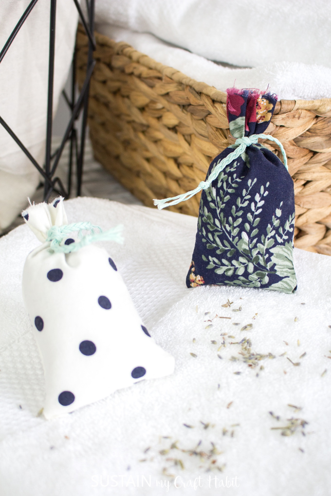 how to make homemade lavender sachets