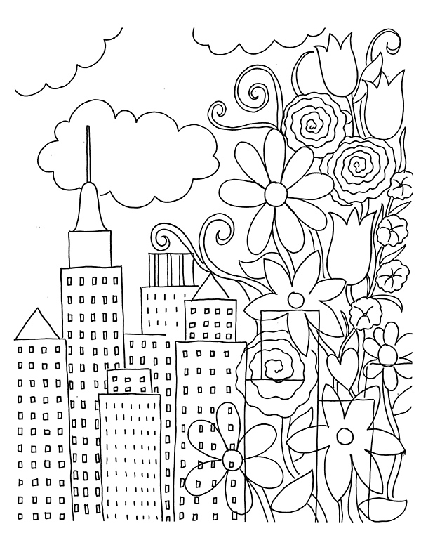 20 Free Nature Themed Adult Coloring Pages Sustain My Craft Habit
