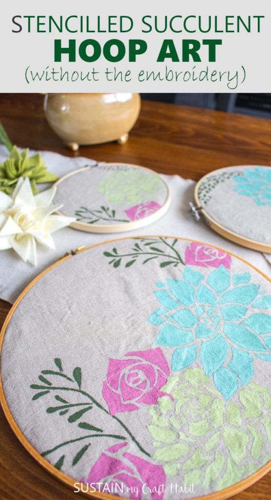 embroidery hoop art
