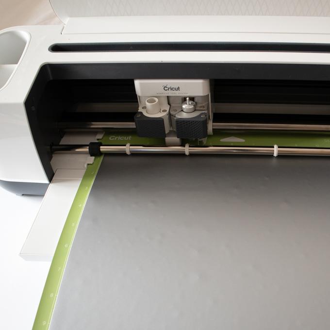 cricut maker cutting heart template