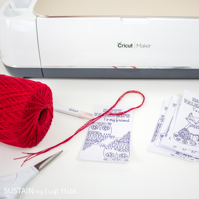 cut embroidery floss