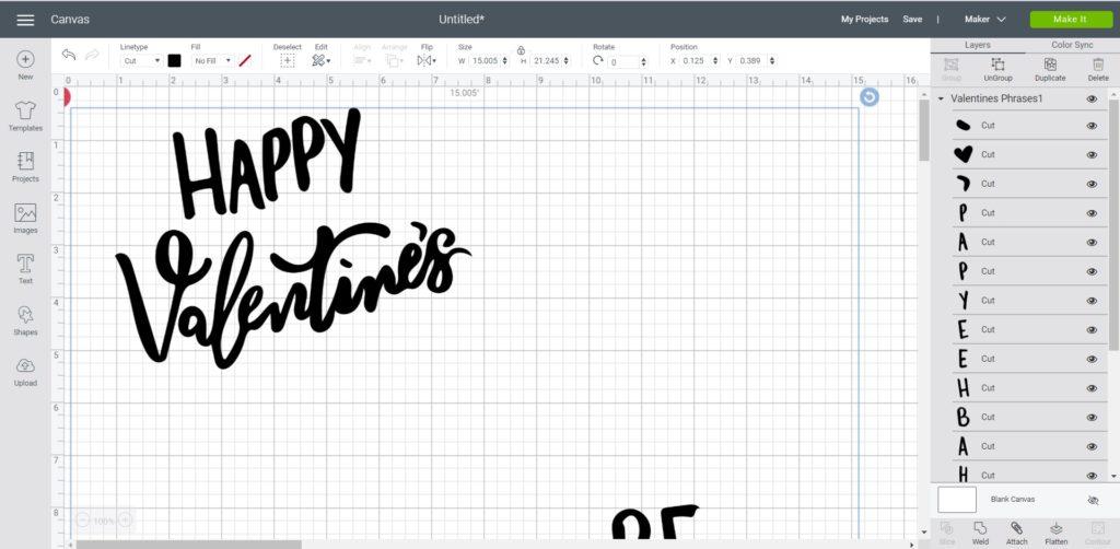uploading SVG file to design space