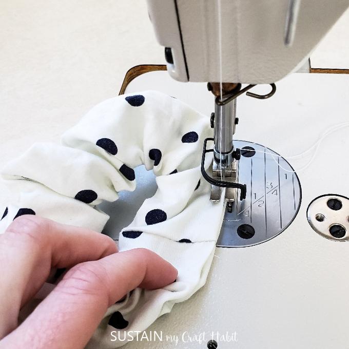 sew the hole closed