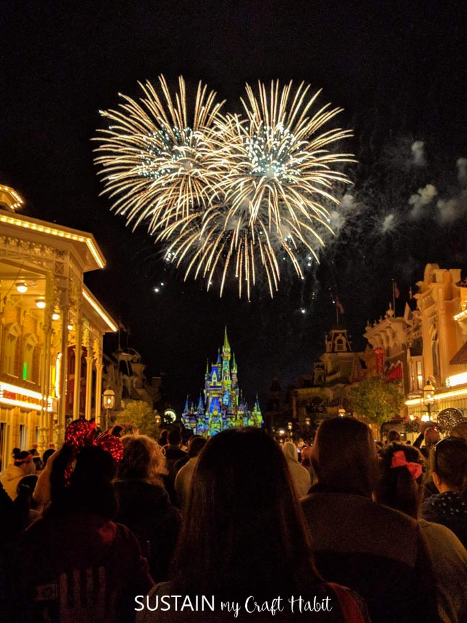 incredible Happily Ever After fireworks at Magic Kingdom